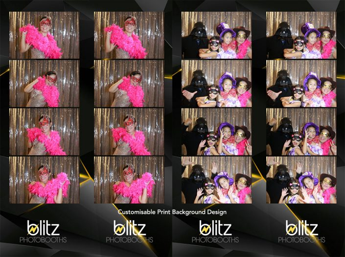 photo booth hire perth choose print layout customised print design